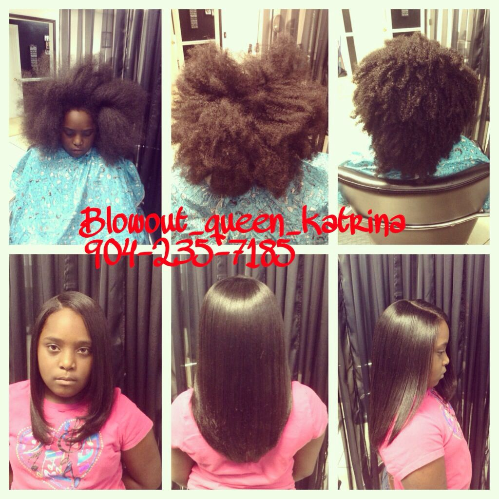 How To Flat Iron Natural Hair With Body