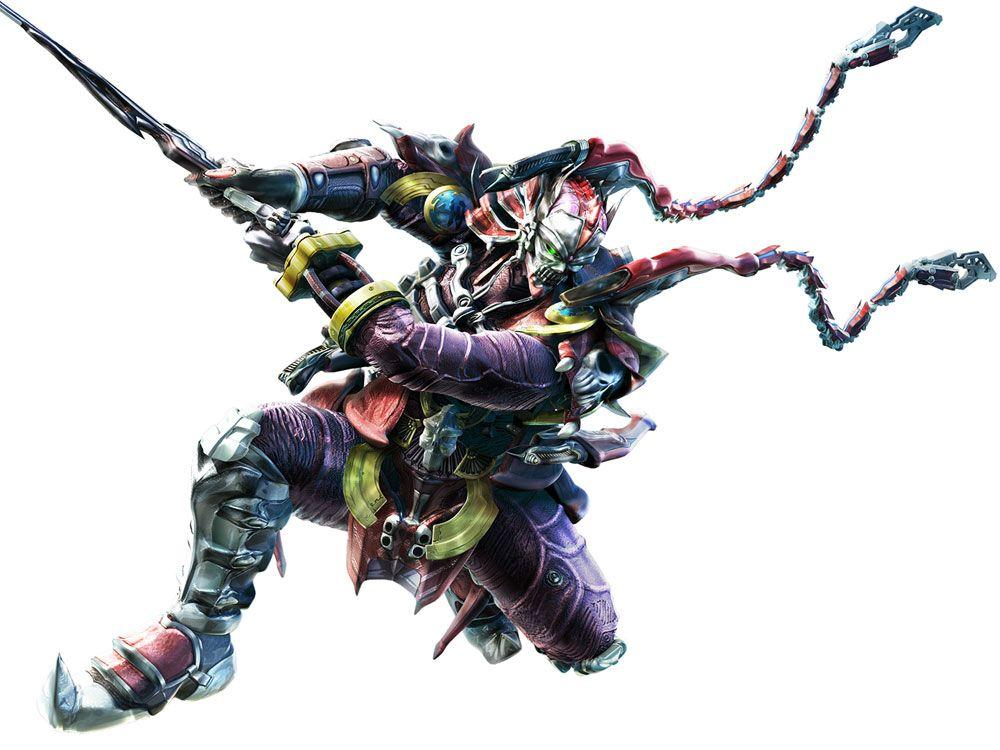 Yoshimitsu Character Design : Yoshimitsu tekken bloodline rebellion art