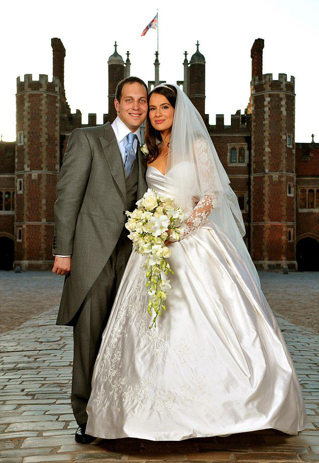 Wedding Of Lord Frederick Windsor Son Prince And Princess Michael Kent With His Bride Sophie Winkleman At Hampton Court Palace In 2009