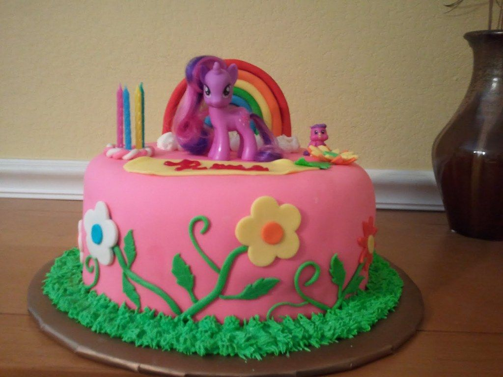 My Little Pony Cake Toppers Autumns Bday Pinterest Pony Cake