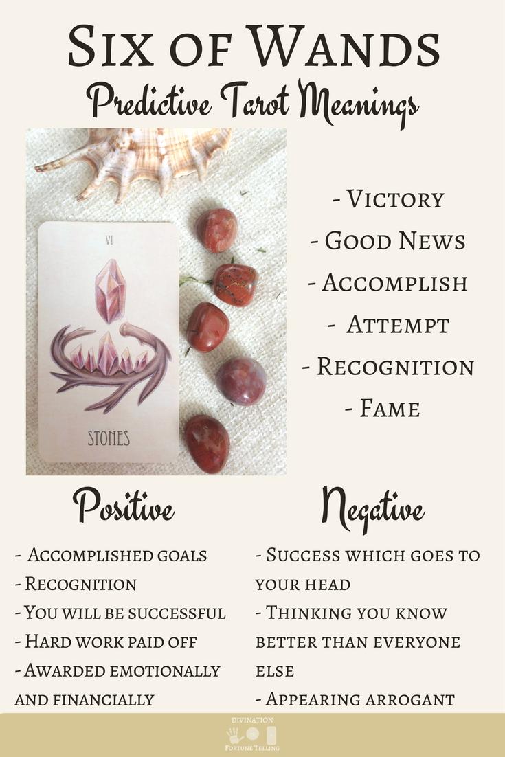 The Six of Wands: Predictive Tarot Card Meaning | Tarot