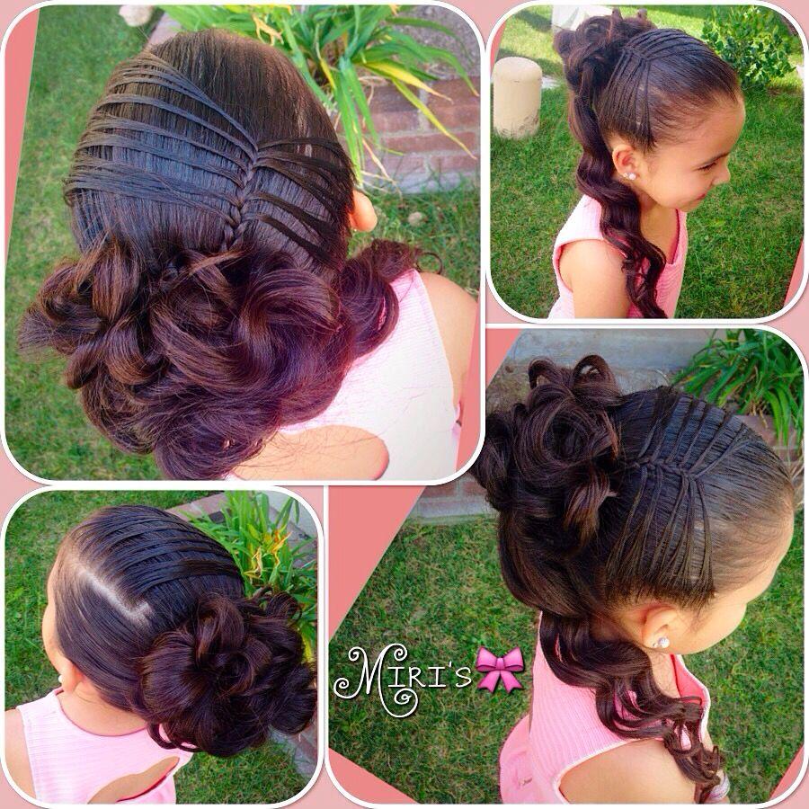 Hair style for little girls braids pinterest hair style girls