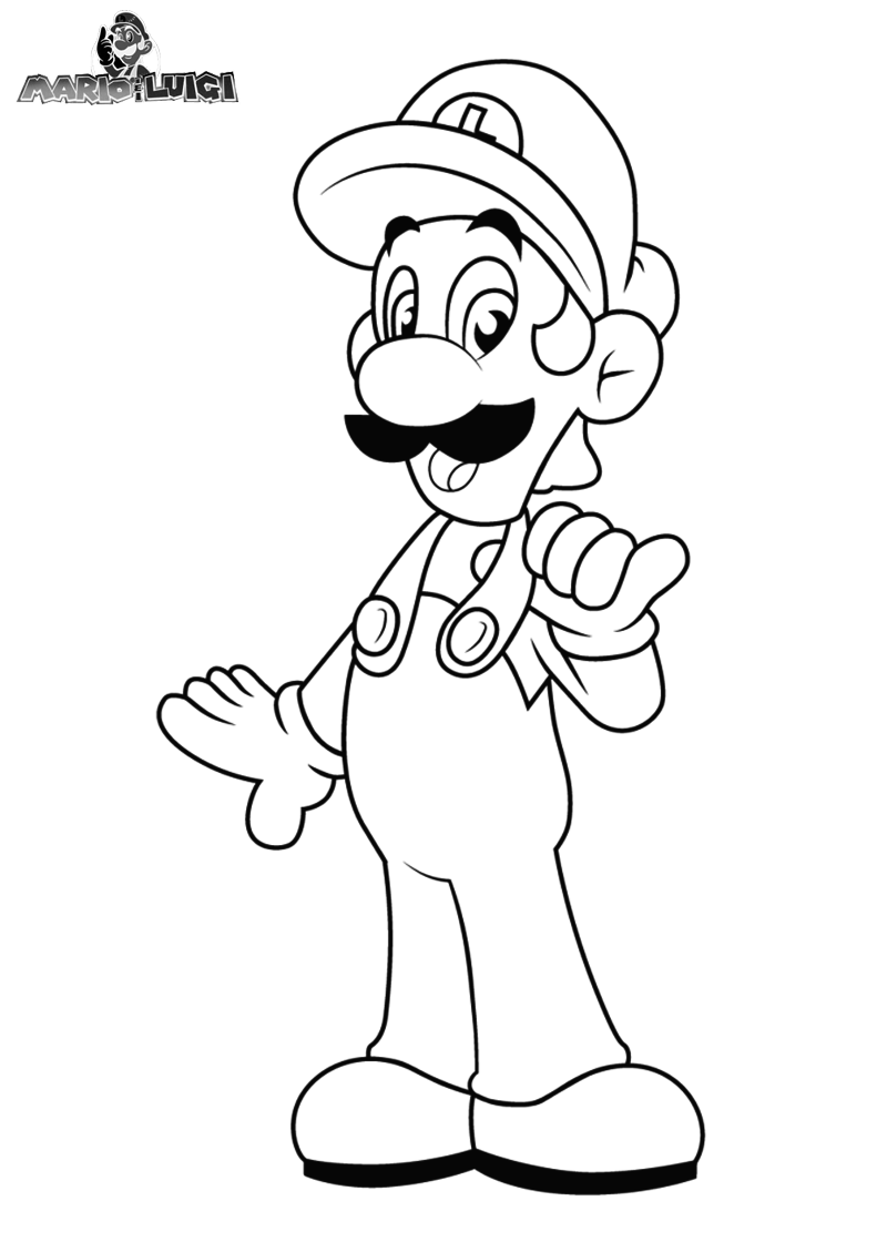 Mario And Luigi Coloring Pages | Bratz Coloring Pages | Coloring ...