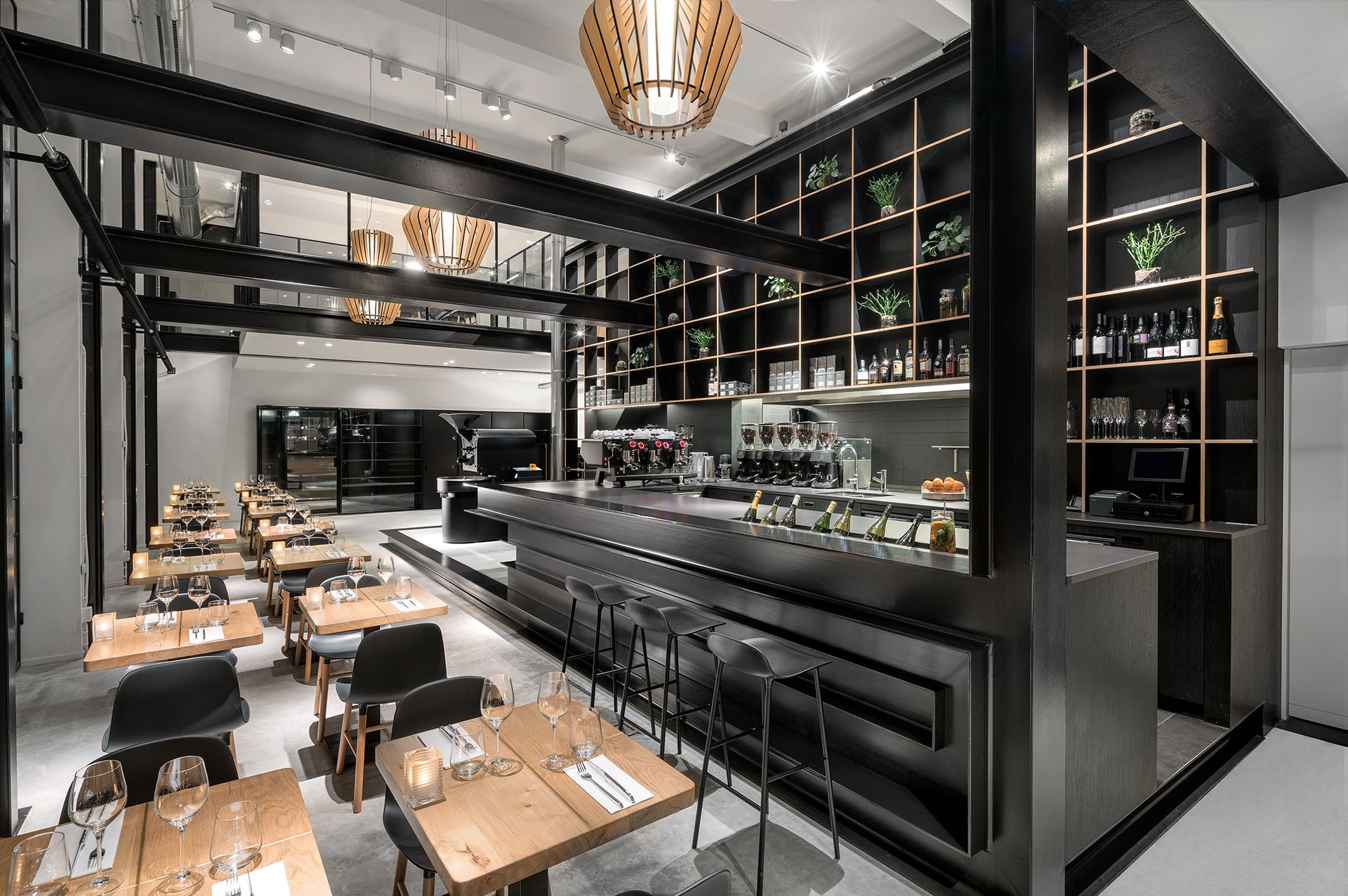 Arredamento Bistrot ~ Capriole cafè a laja #interiordesign #bar #industrial #inspiration