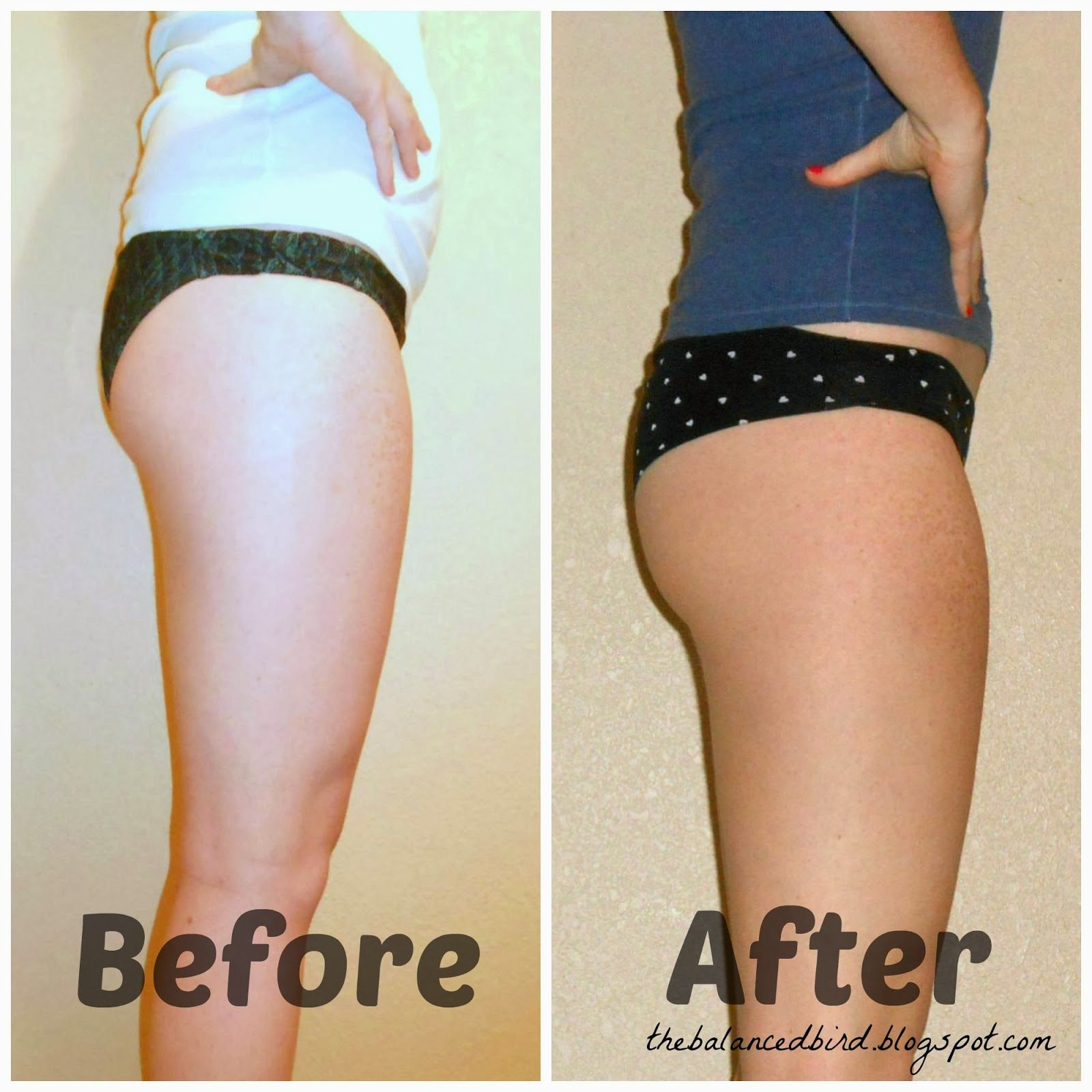 The 30 Day Squat Challenge Before & After Photo | Before and