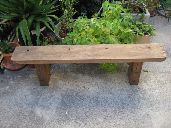 Groovy Antique Plank Rustic Primitive Farmhouse Decor Plant Stand Gmtry Best Dining Table And Chair Ideas Images Gmtryco