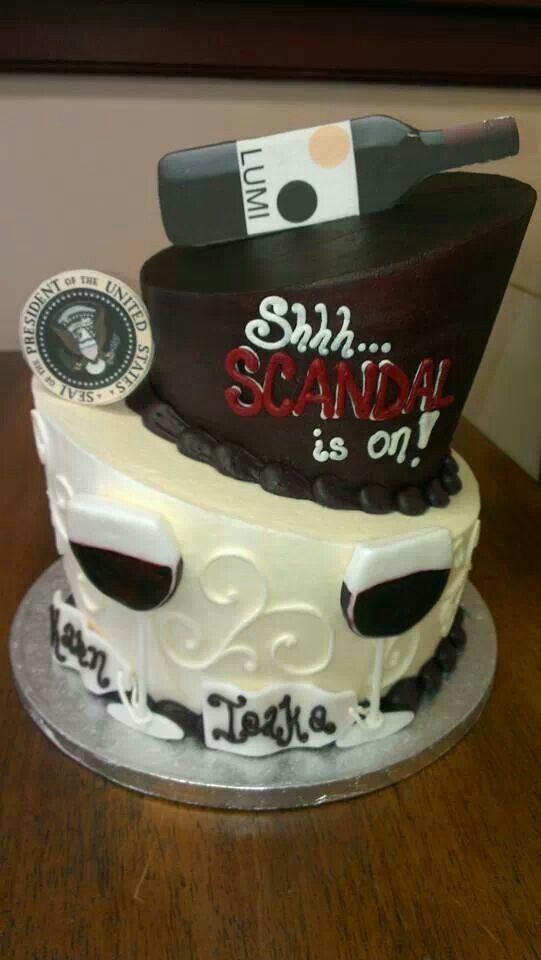 Scandal Cake Cake Creative Birthday Cakes Wedding Cake Bakery
