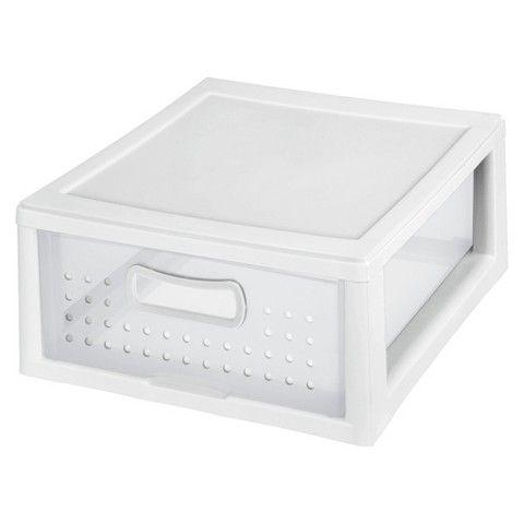 Plastic Storage Drawers Target sterilite storage drawers - 3-pack - target - $8 - under sink