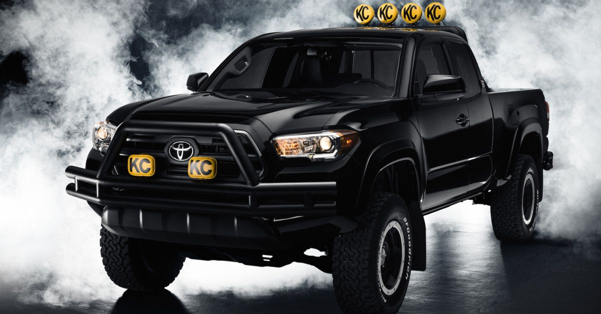 Toyota Made A Modern Version Of Marty Mcfly S Dream Truck With