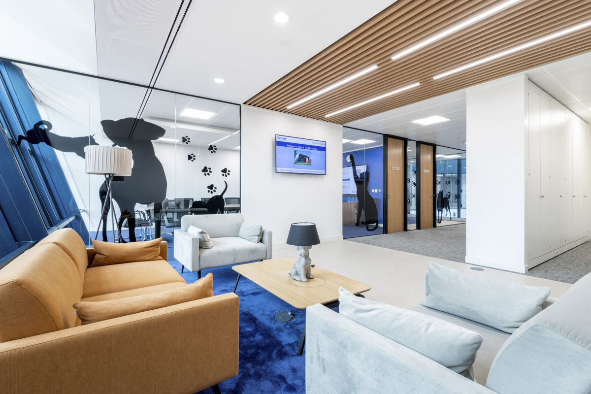 Inside Agria Pet Insurance S New Aylesbury Office Design Pet Insurance Pet Insurance Cost