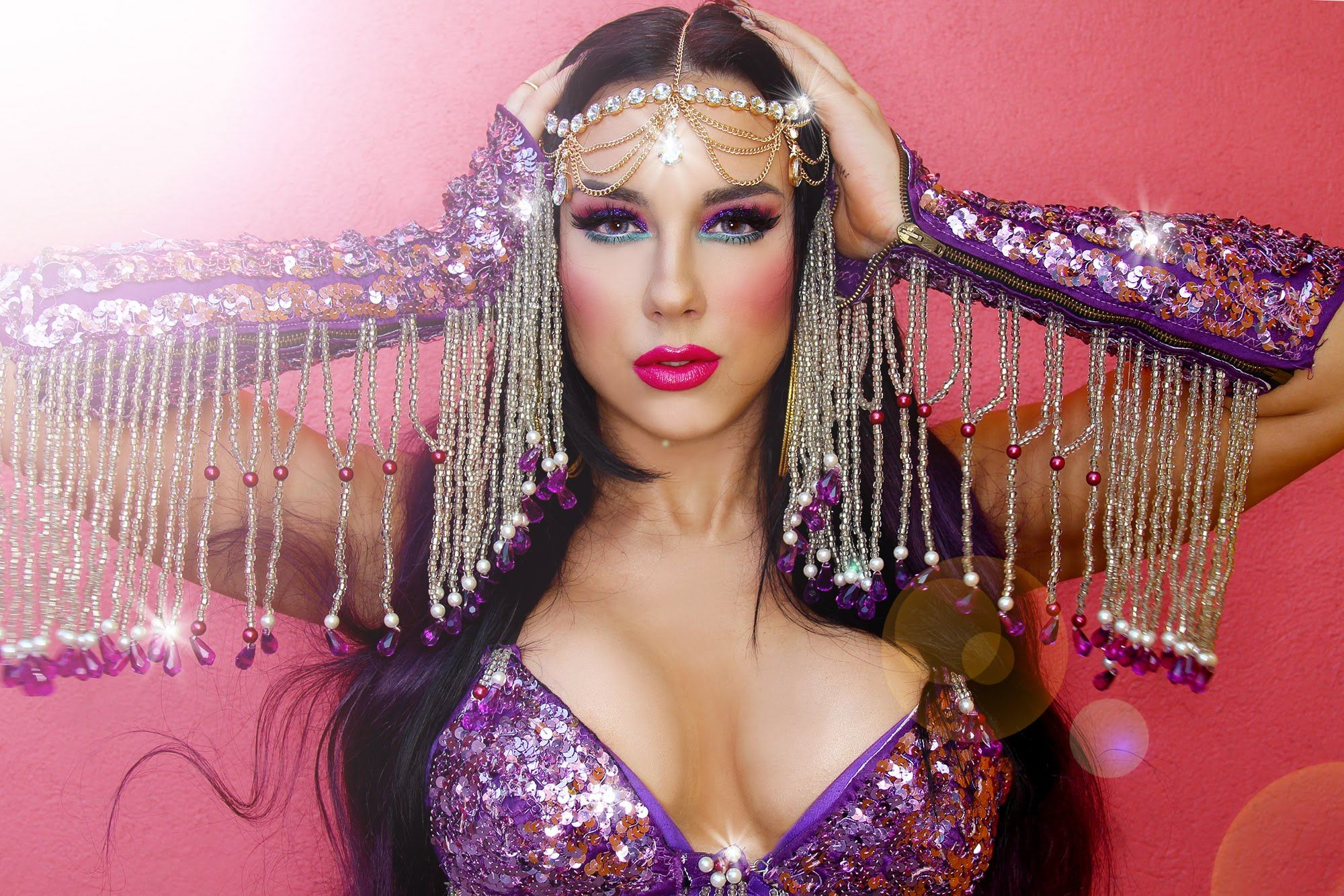 Gypsybellydance belly dancer gypsy halloween makeup let the halloween makeup tutorials commence baditri Gallery