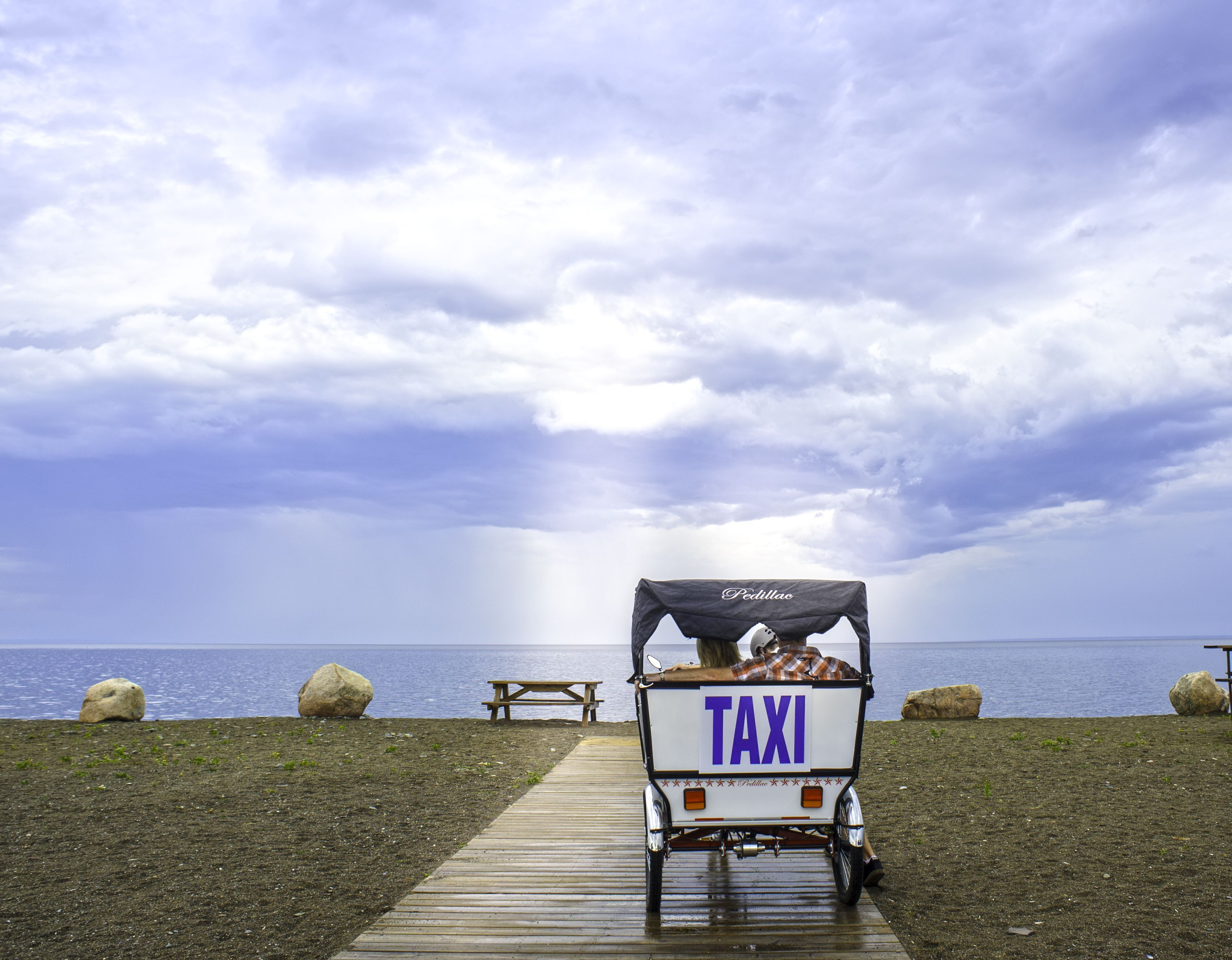 Riding in style on Beresford Beach | Acadian Coast, New Brunswick #ExploreNB