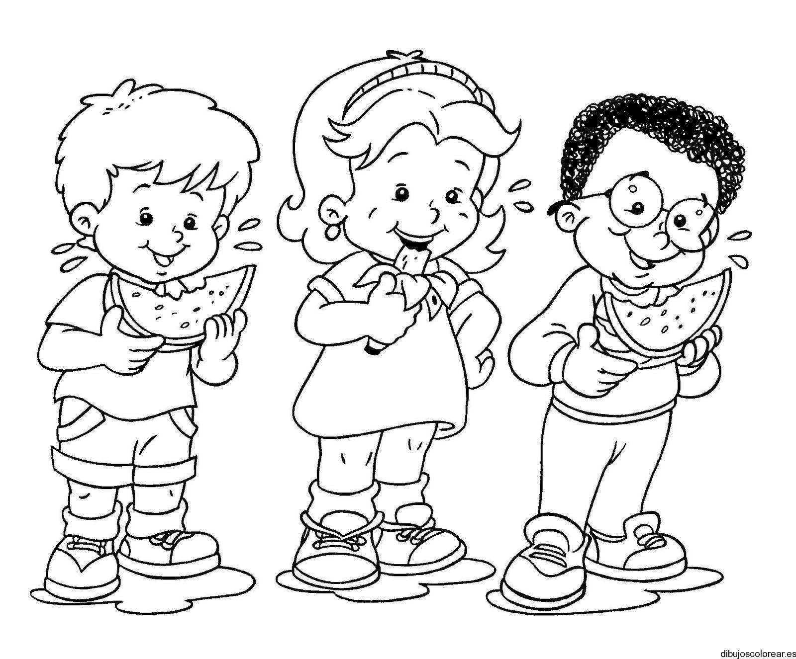 Resultado De Imagen Para Dibujos De Niños Comiendo