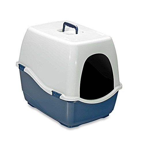 Marchioro Bill Eco Enclosed Extra-Large Cat Litter Pan In