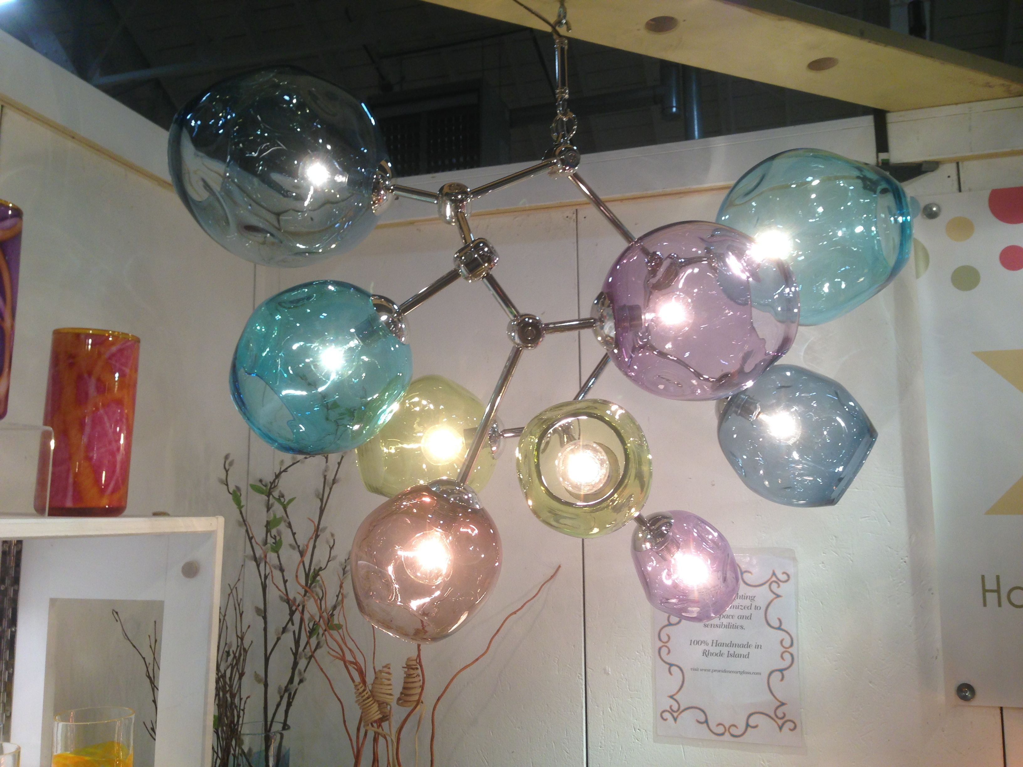 Providence Art Glass Chandie Ceiling Lights Glass Art Glass