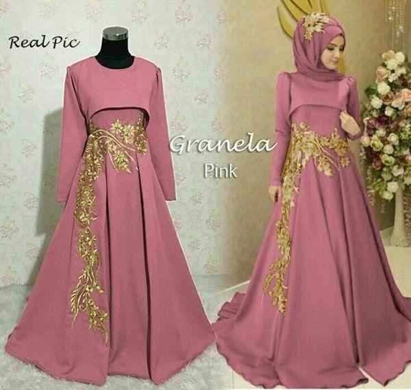 Gambar Baju Gamis Dan Harganya 100 Model Baju Gamis Modern Terbaru 2019 Gamis Online Murah Download 205 Model Baju Baju Muslim Wanita Gaun Formal Panjang