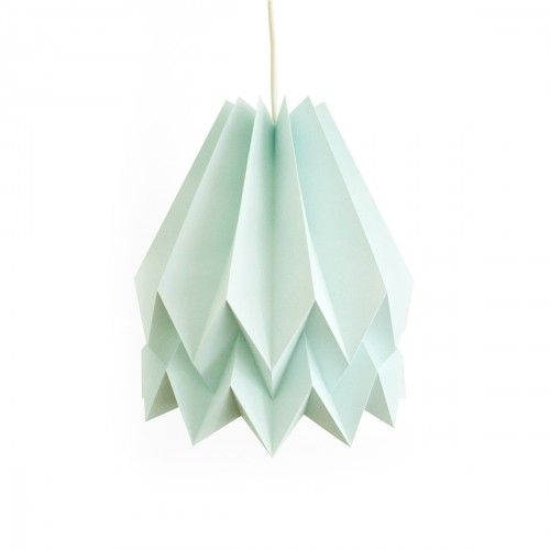 suspension origami, suspension papier, suspension chambre enfant