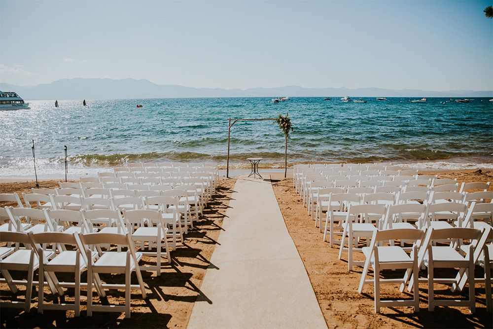 Weddings At Zephyr Cove Resort Lake Tahoe Nv Lake Tahoe Wedding Venues Zephyr Cove Resort Tahoe Beach Wedding
