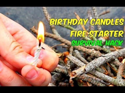 ReLight Birthday Candles As Fire Starter