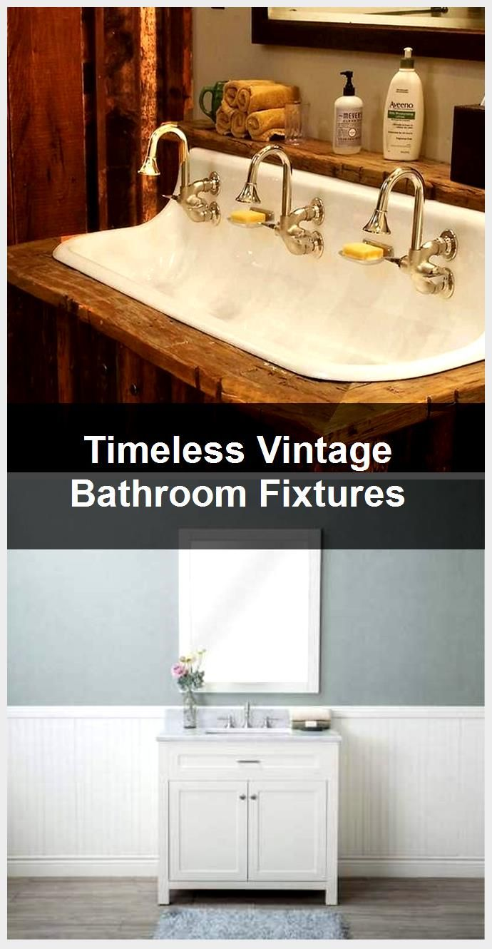 Photo of Timeless Vintage Bathroom Fixtures,  #Bathroom #Fixtures #Timeless #Vintage