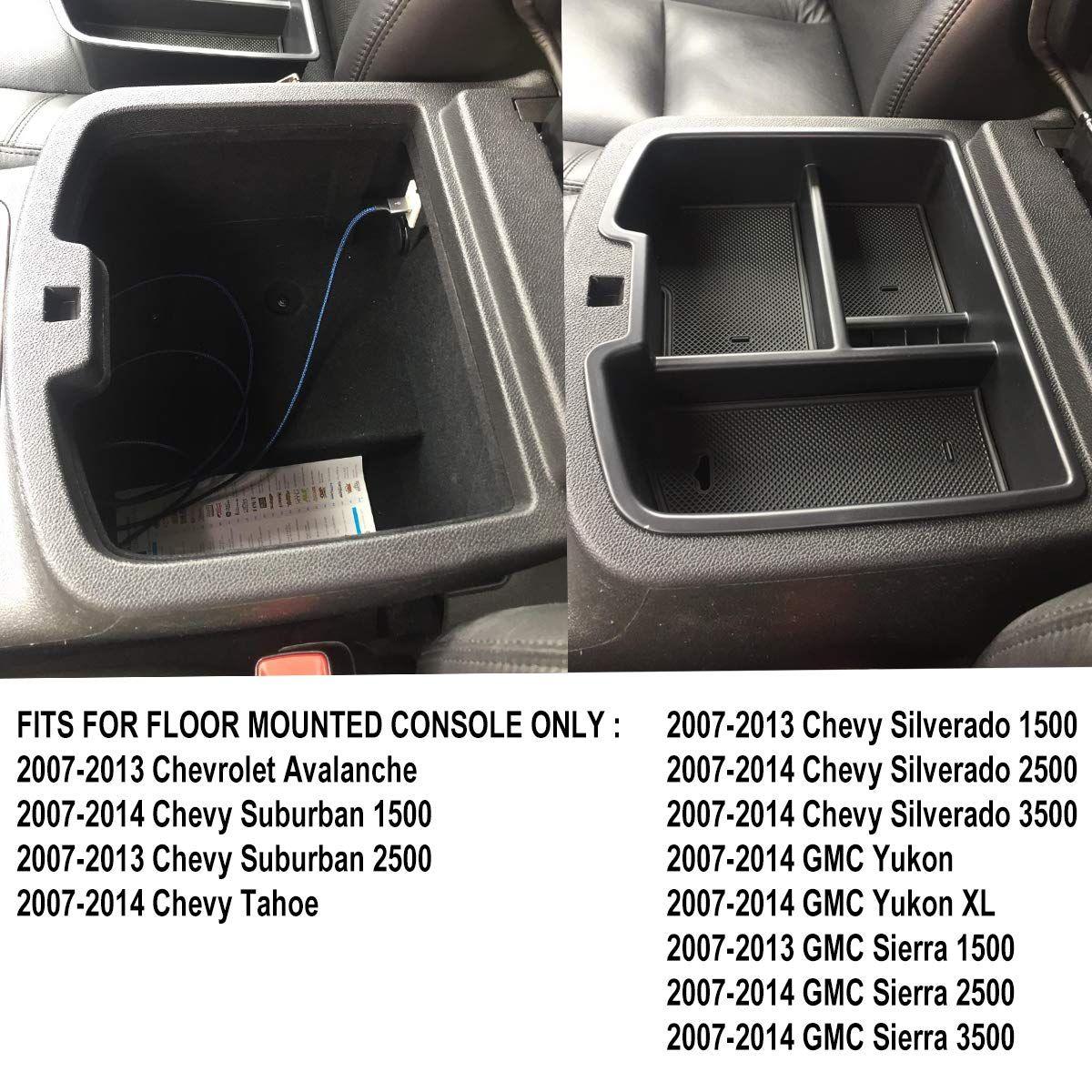 Edbetos 07 14 Full Size Gm Trucks Center Front Floor Console