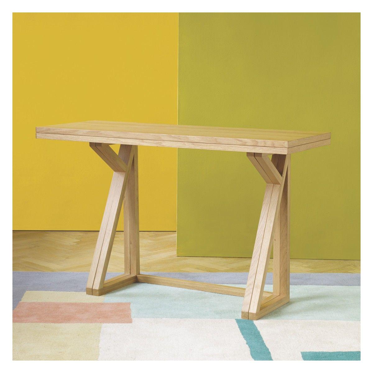 Heath 2 4 Seat Oak Folding Dining Table Now At Habitat Uk