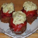 Tater Topped Tomato Meatloaves