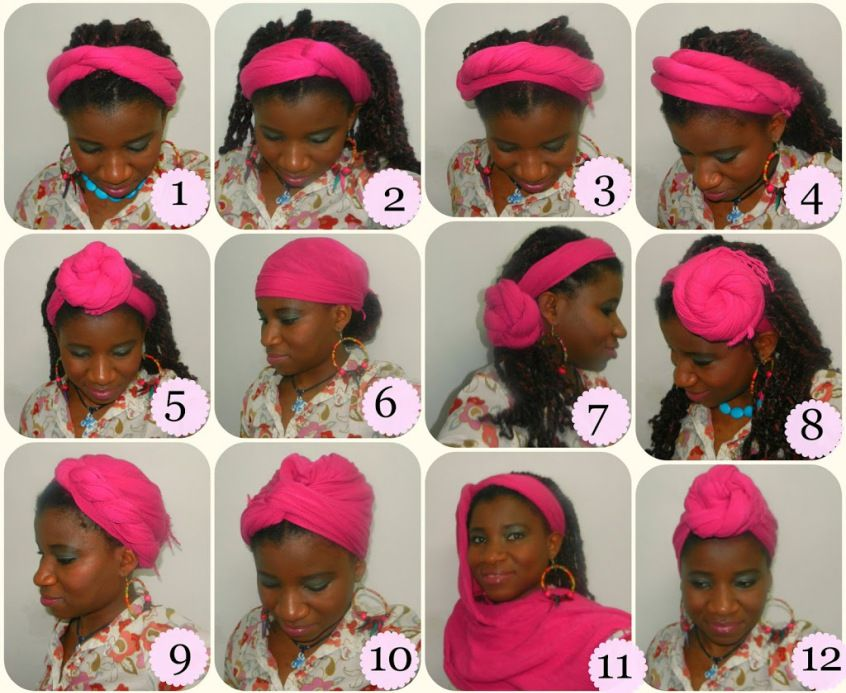 12 Ways To Wrap Your Natural Hair Using A Pashmina Scarf Natural Hair Styles Head Wrap Styles Pashmina