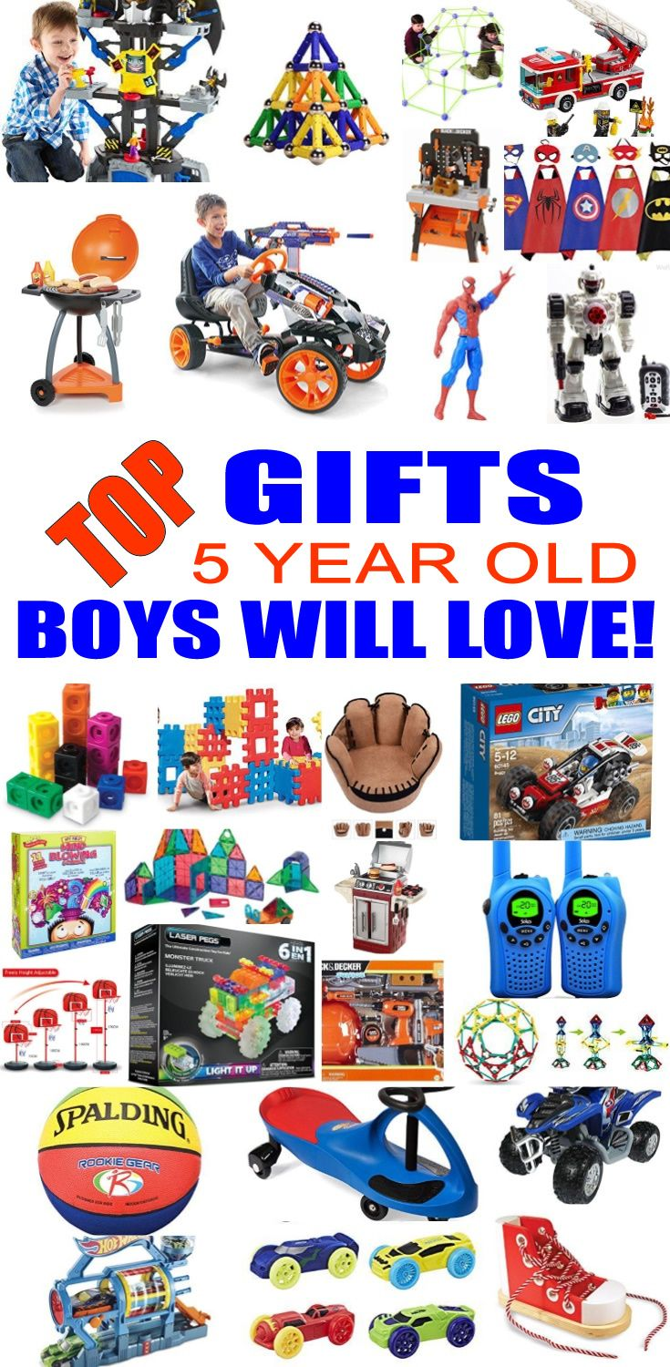 Top Gifts 5 Year Old Boys Want Christmas presents for 5