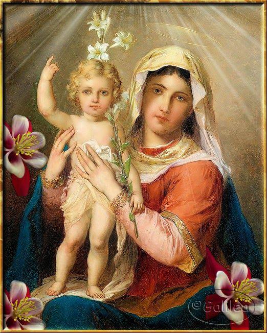 Santa María, Madre de Dios y Madre nuestra: Bajo tu amparo  http://santavirgen.blogspot.com.es/