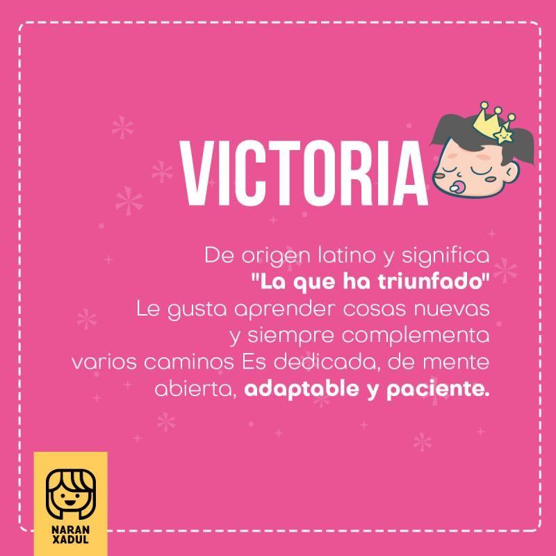 c02a8a74 significado de victoria, nombres de niña, nombres de niña 2018, victoria  significado