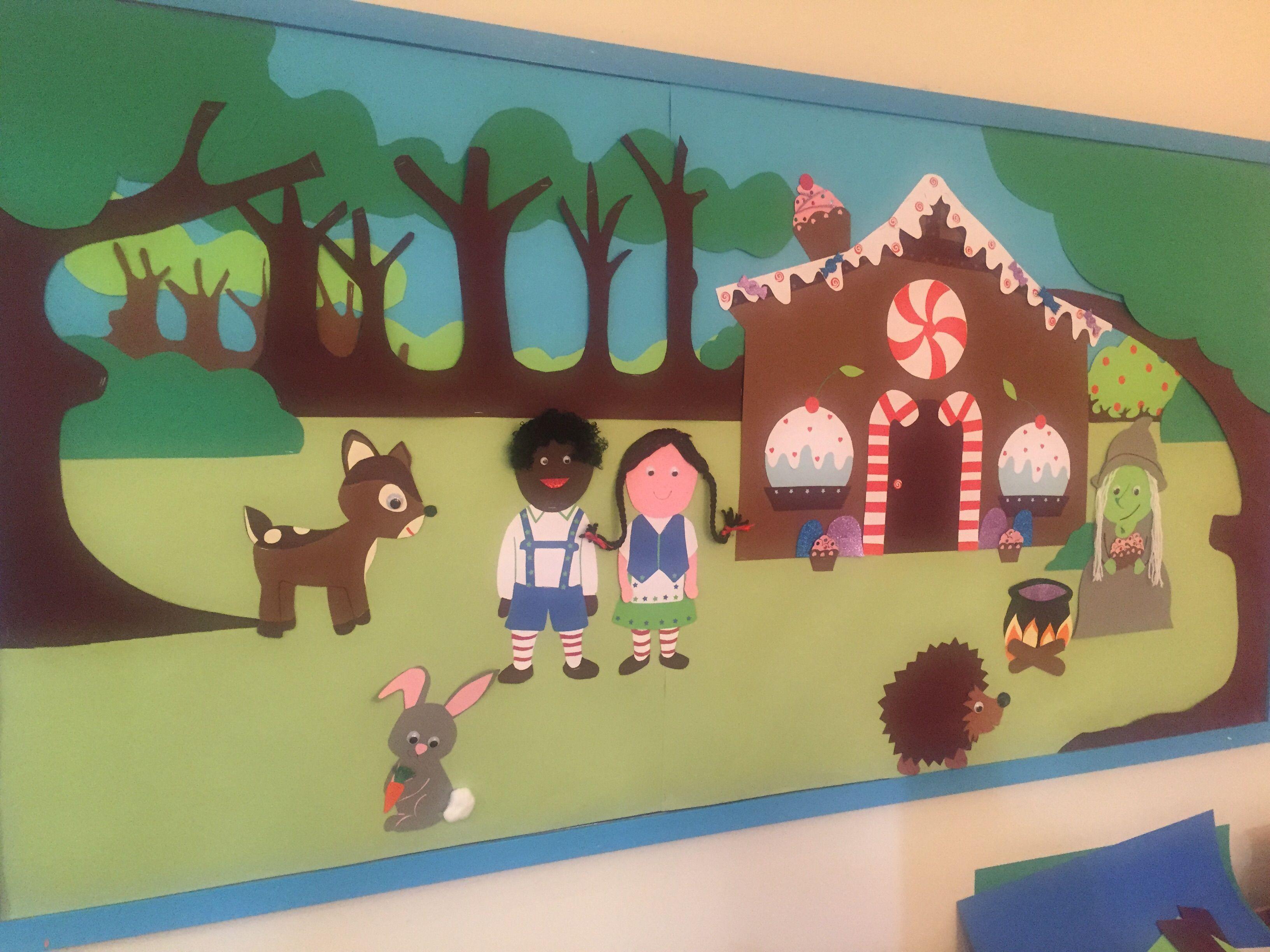 Hansel Amp Gretal Preschool Board For Fairy Tale Theme
