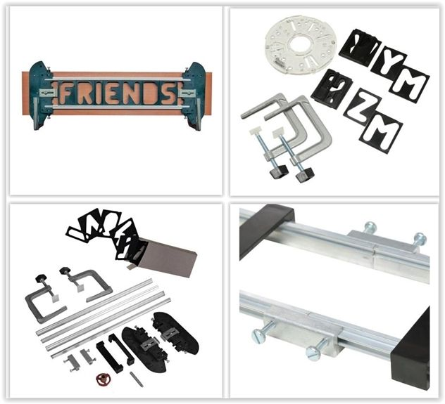 Milescraft Sign Crafter Complete Sign Making Router Jig Template Kit 1206 The Home Depot Jet Woodworking Tools Router Stencils Diy Tools Woodworking