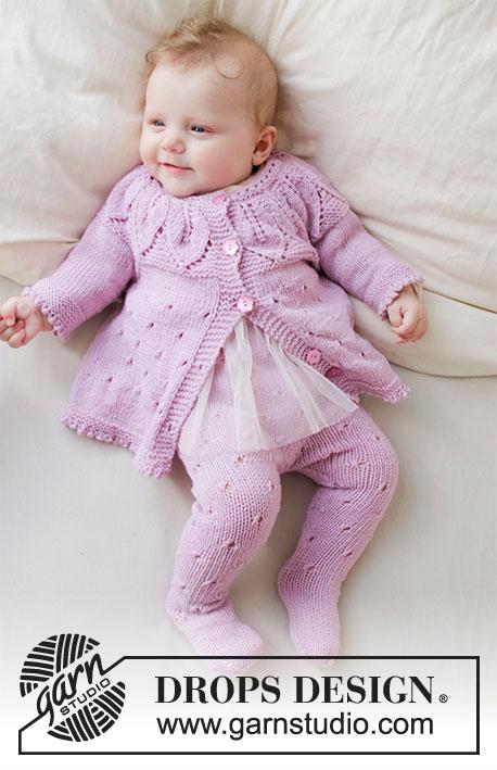 Pink Petals Drops Baby 33 13 Modeles Tricot Gratuits De Drops
