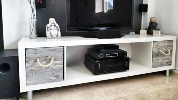 Ikea hack: estantería Kallax | Ikea, Entrada y Salón