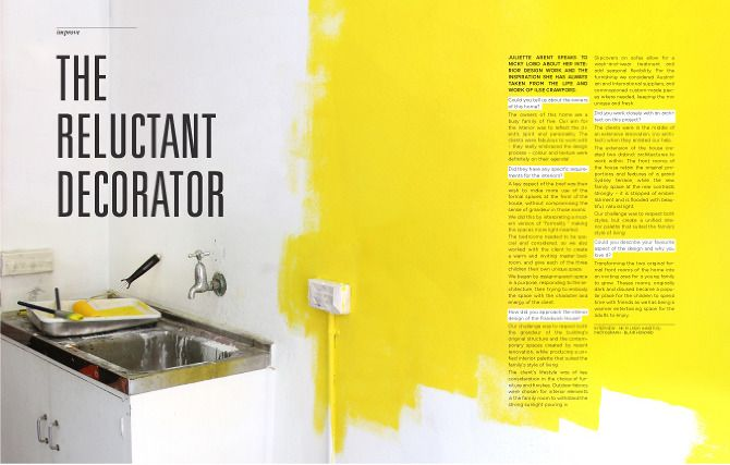 interiors - Interior Design Magazine Article