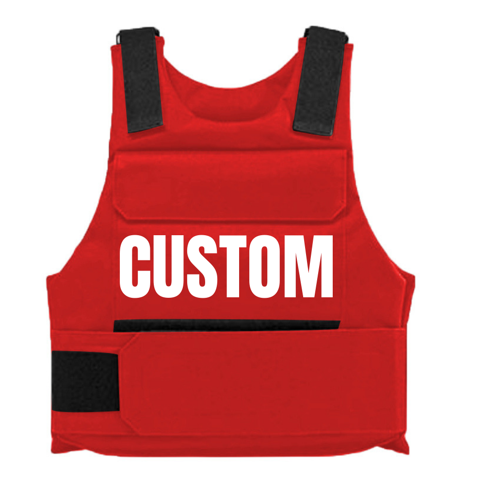 RED CUSTOM BULLETPROOF VEST in 2020 Bullet proof vest
