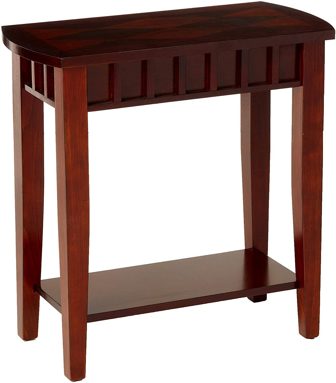 Crown Mark Dentil Chair Side Table In 2020 Chair Side Table Side Tables For Sale Side Table