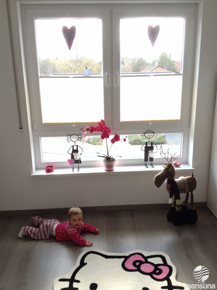 Moderner Sonnenschutz für\'s Kinderzimmer mit Plissees von ...
