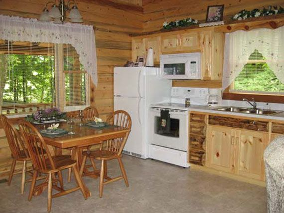 for example if a log cabin uses upscale natural materials such rustic luxury log