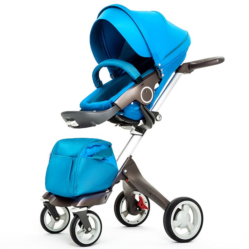 New Baby Stroller Fashion Pram Folding Carriage Suit for
