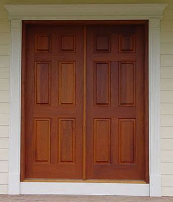 Ordinaire Double Front Doors Exterior | Db104 Solid Wood Double Door Price To Be  Quoted Db105