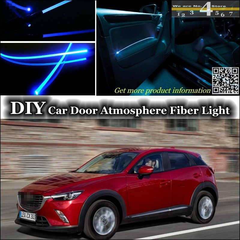 For Mazda Cx5 Cx 5 Interior Ambient Light Tuning Atmosphere Fiber Optic Band Lights