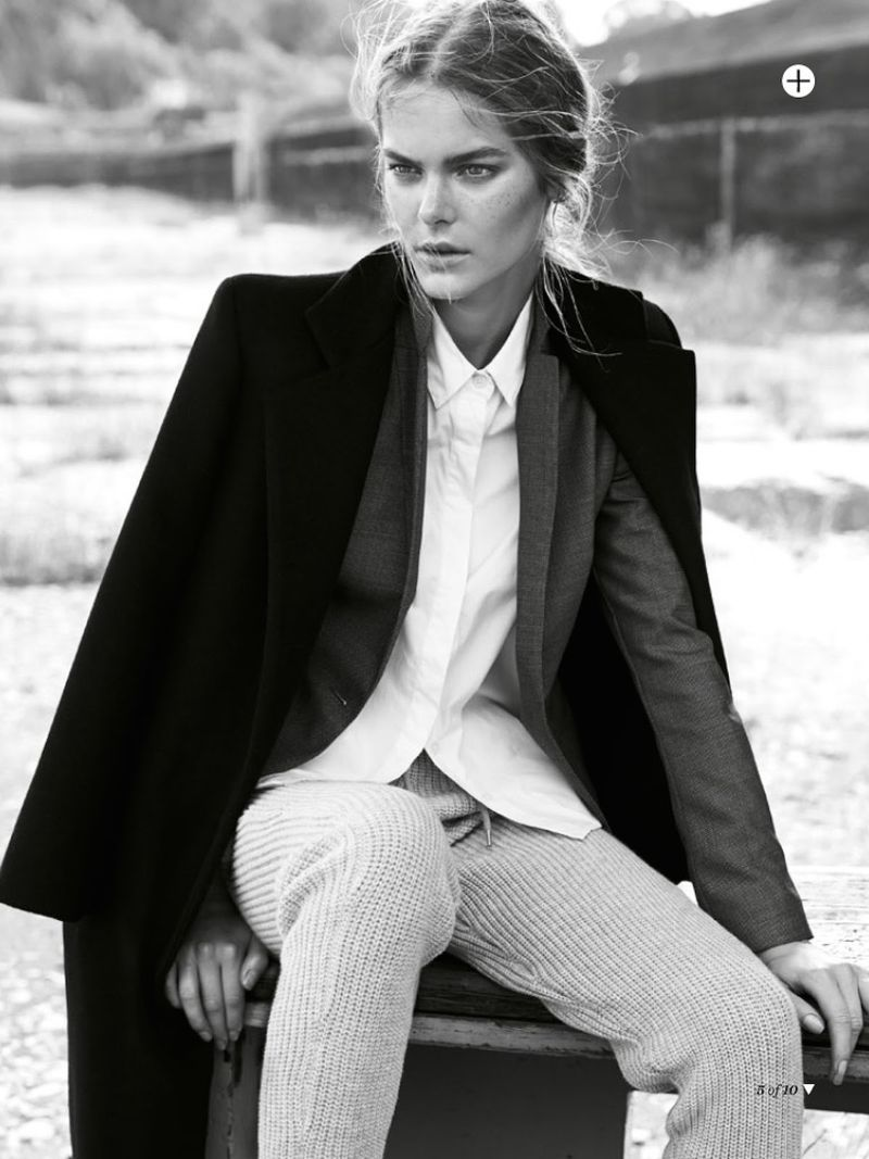 'Her Story' Her Story by Nicole Bentley for Marie Claire Australia July 2014 4