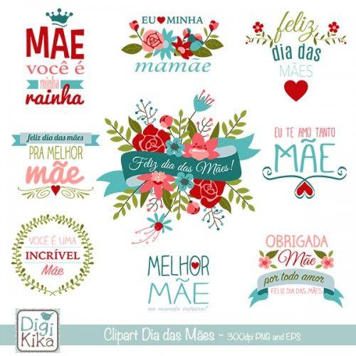 Kika Digital Clipart Dia Das Maes Portugues Presente Dia Dos