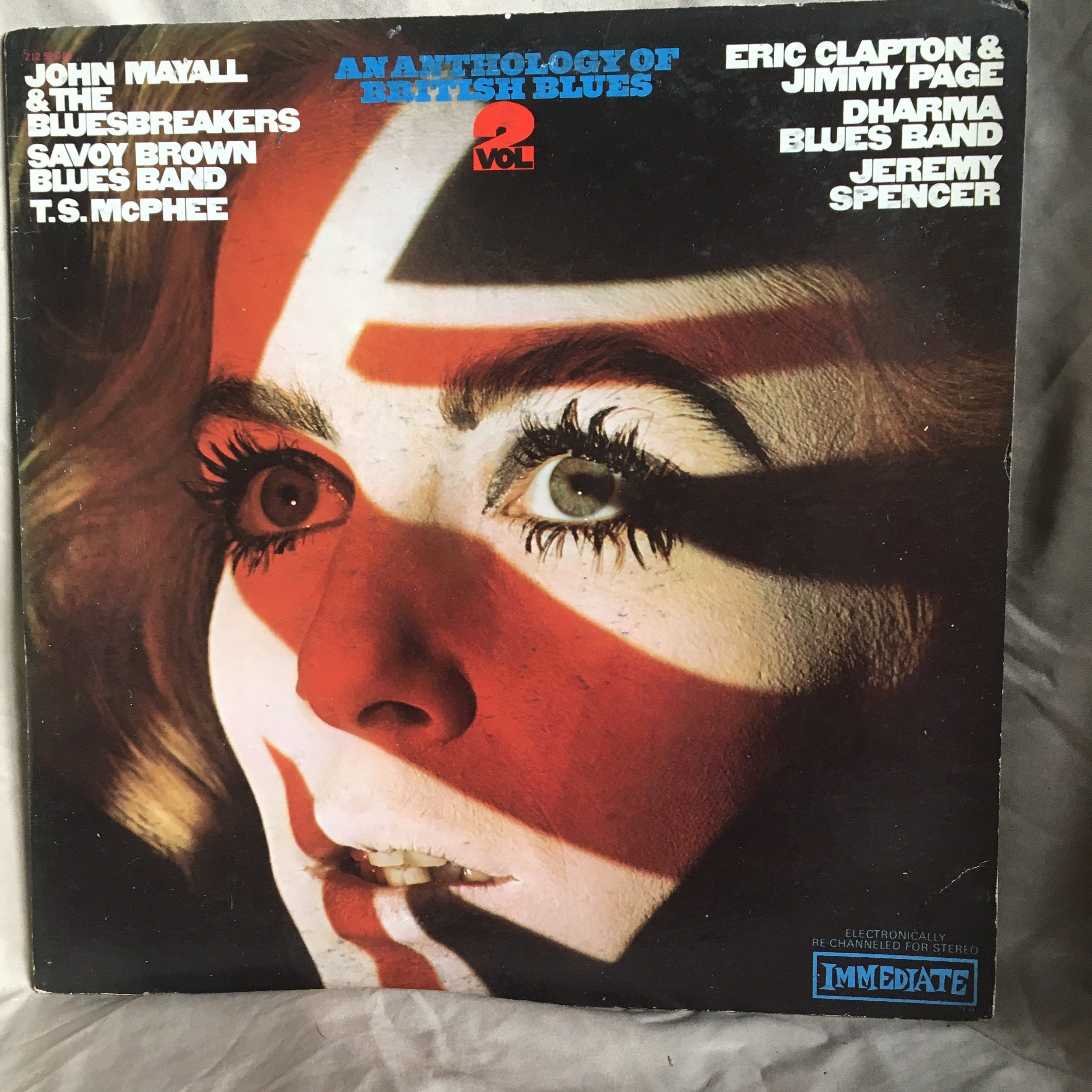An Anthology Of British Blues Volume 2 With John Mayall Eric Clapton Jimmy Page And John Mayall From Laural Canyon Lps With Images John Mayall Eric Clapton Anthology