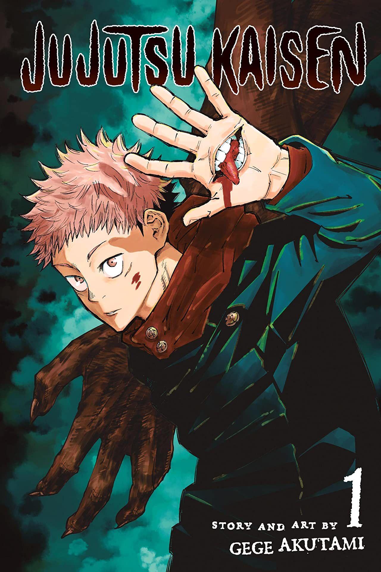 Jujutsu Kaisen Vol 1 Manga Covers Manga Anime Anime Printables