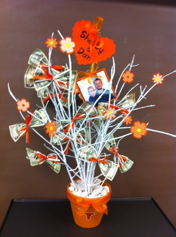 Bridal Shower Money Tree