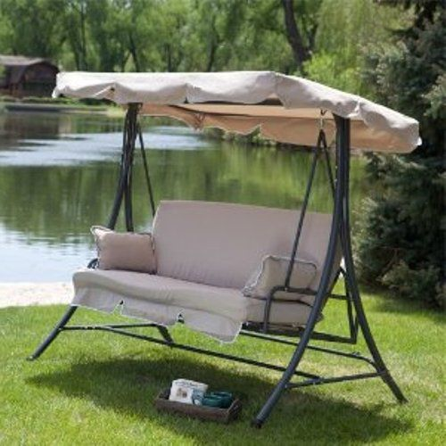 Outdoor Swing Replacement Cushions And Canopy Outdoor Swing Cushions Swing Chair Outdoor Outdoor Swing