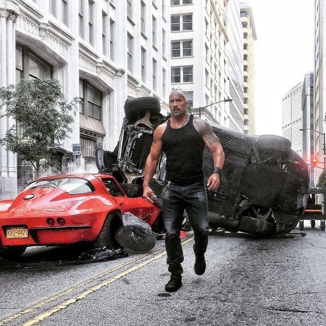 Fast And Furious 8 Dwayne Johnson Sebagai Luke Hobbs Dwayne